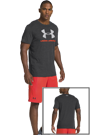 Under Armour Sportstyle Logo Tee dunkelgrau