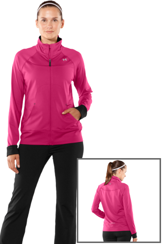 Under Armour Womans Form Full Zip pink