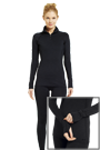Under Armour COLDGEAR COZY HALF ZIP black