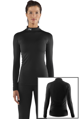 Under Armour COLDGEAR MOCK SHIRT black