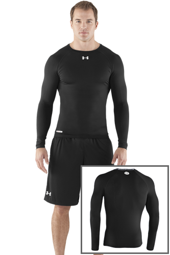 Under Armour SONIC COMPRESSION LS black