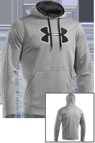 Under Armour Fleece Big Logo Hoody II true grey