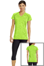 Under Armour TWISTED TECH T-Shirt in neon