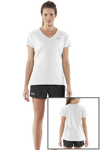 Under Armour Tech SS TEE white