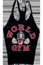 World Gym Classic Stringer Tank Top black