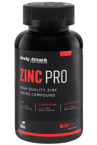 Body Attack Zinc Professional - 90 Caps