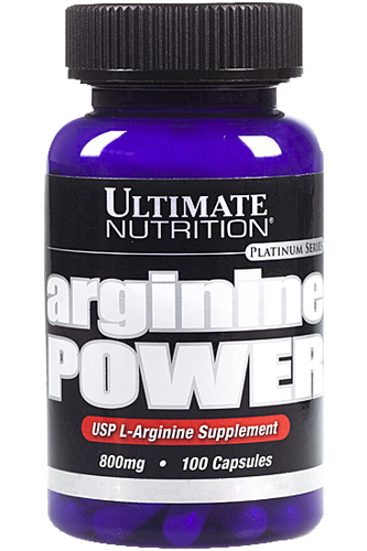 Ultimate Nutrition Arginine Power - 100 Caps