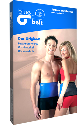 Original blue belt� Thermog�rtel
