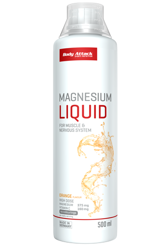 Body Attack Magnesium Liquid - 500ml