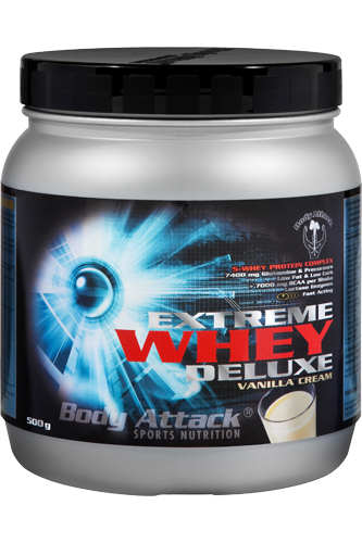 Body Attack Extreme Whey Deluxe 500g Aktion