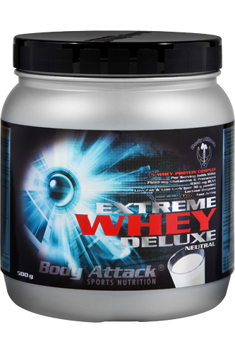 Body Attack Extreme Whey Deluxe 500g neutral