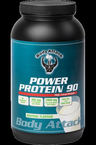 Body Attack Power Protein 90 - 1kg neutral