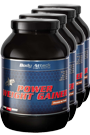 Body Attack Power Weight Gainer - 1,5kg - 4 Dosen