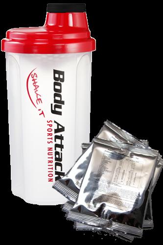Body Attack Extreme Whey Deluxe Probenpaket+Shaker