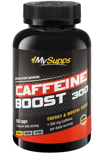 My Supps Caffeine Boost 450 - 150 Caps