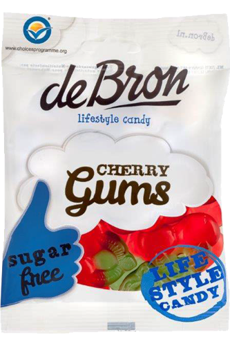 de Bron Low Carb Cherry Gums - 90g