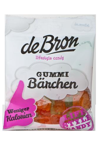 de Bron Low Sugar Gummib�rchen mit Vitamin C - 100g