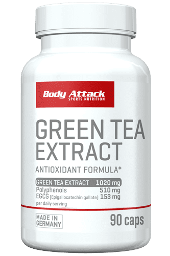 Body Attack Green Tea Extract - 90 Caps