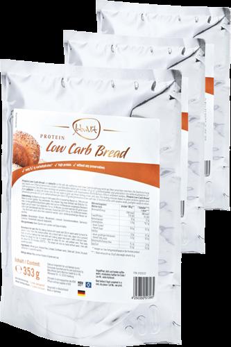 JaBuVit Protein Low Carb Bread - 353g Dreier-Pack