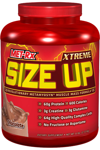 MET-Rx Size Up Weight Gainer 2,72kg