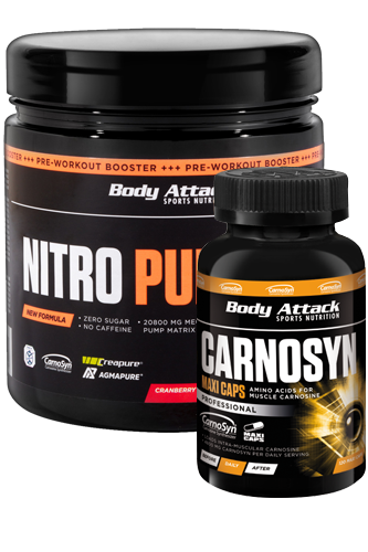 NOX ATTACK Pack: Endurance Booster + Kre-Alkalyn Nitro Pro