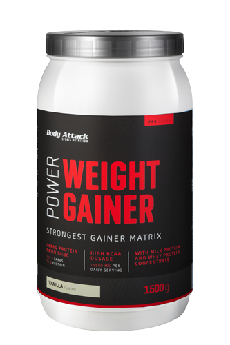 Body Attack Power Weight Gainer - 1,5kg