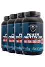 Body Attack Power Protein 90 - 1kg - 4 Dosen