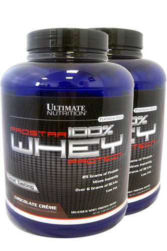 Ultimate Nutrition Prostar Whey - 2390g Doppelpack