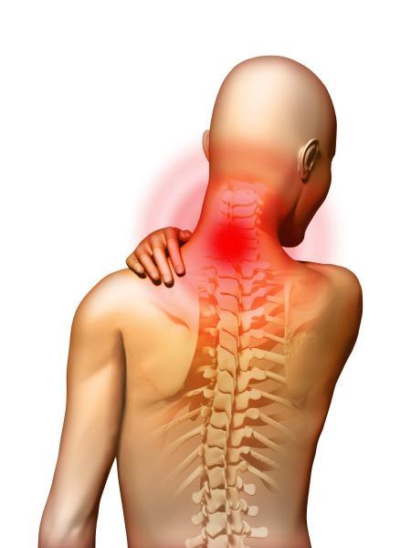 Nackenschmerzen - �bertraining beim Natural Bodybuilding ist h�ufig mit Schmerzen verbunden (Quelle: Shutterstock/Andrea Danti)