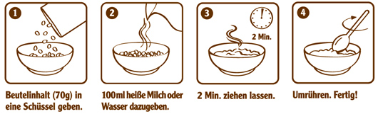 Oatmeal Verzehrempfehlung