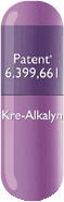 EFX Kre-Alkalyn Kapsel - nur echt mit der Patentnummer