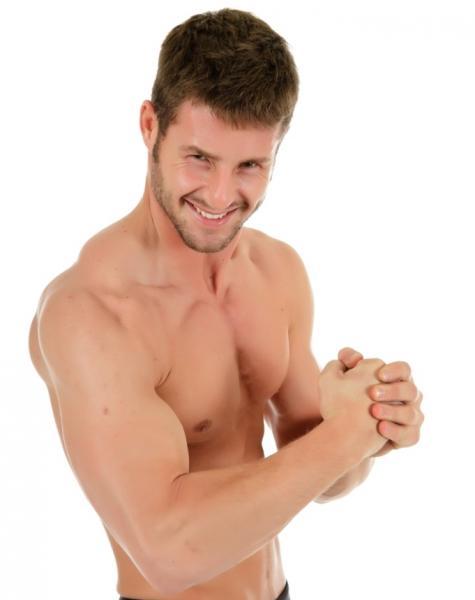 Hardgainer bauen nur langsam Muskelmasse auf (Quelle: Shutterstock/sam100)