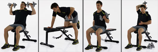 SPARKS EXERCISE BENCH von Men�s Health