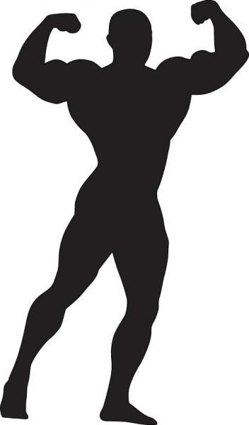 Bodybuilder (Quelle: Shutterstock/Alexander Kalina)