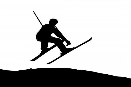 Freestyle-Skifahrer (Quelle: Shutterstock/Mitrofanov Alexander)