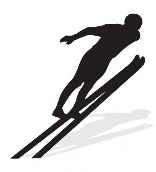 Skispringer (Quelle: Shutterstock/Catalin D)