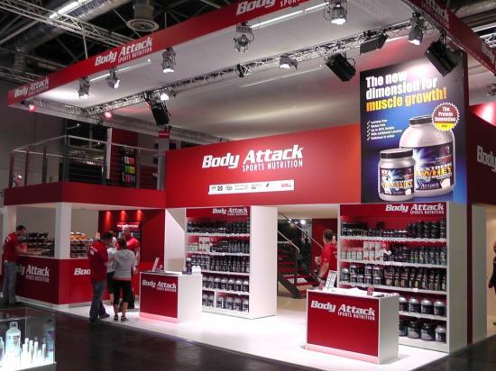 Der neue Body Attack Stand auf der FIBO 2013