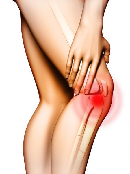 Gelenkschmerzen beim Sport (Quelle: Shutterstock/Andrea Danti)