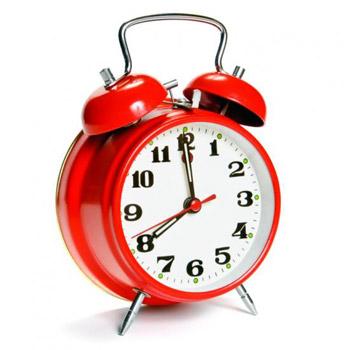 Uhr - Die Trainingszeiten im Blick (Quelle: Shutterstock/PaulPaladin)