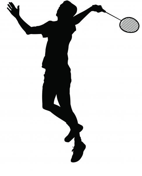 Badmintonspieler (Quelle: Shutterstock/freelanceartist)