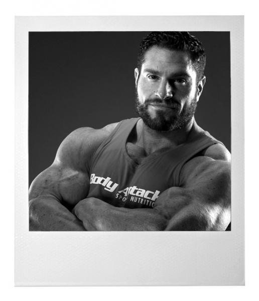 Bodybuilder David Hoffmann