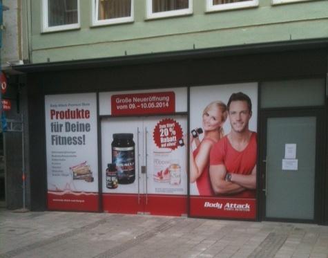 Body Attack Premium Store in N�rnberg
