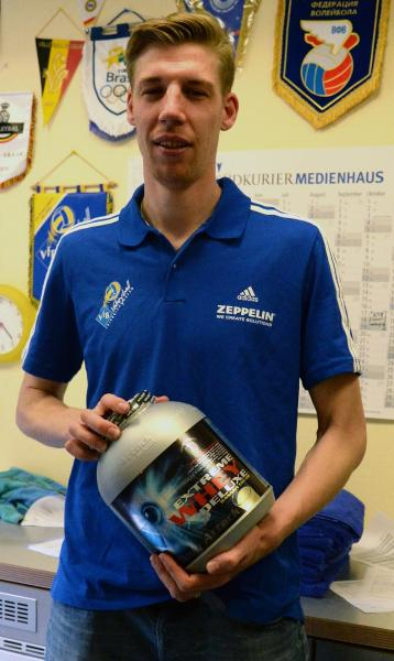 Max G�nth�r vom VfB Friedrichshafen