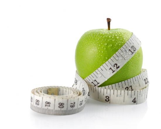 Apfel mit Ma�band
