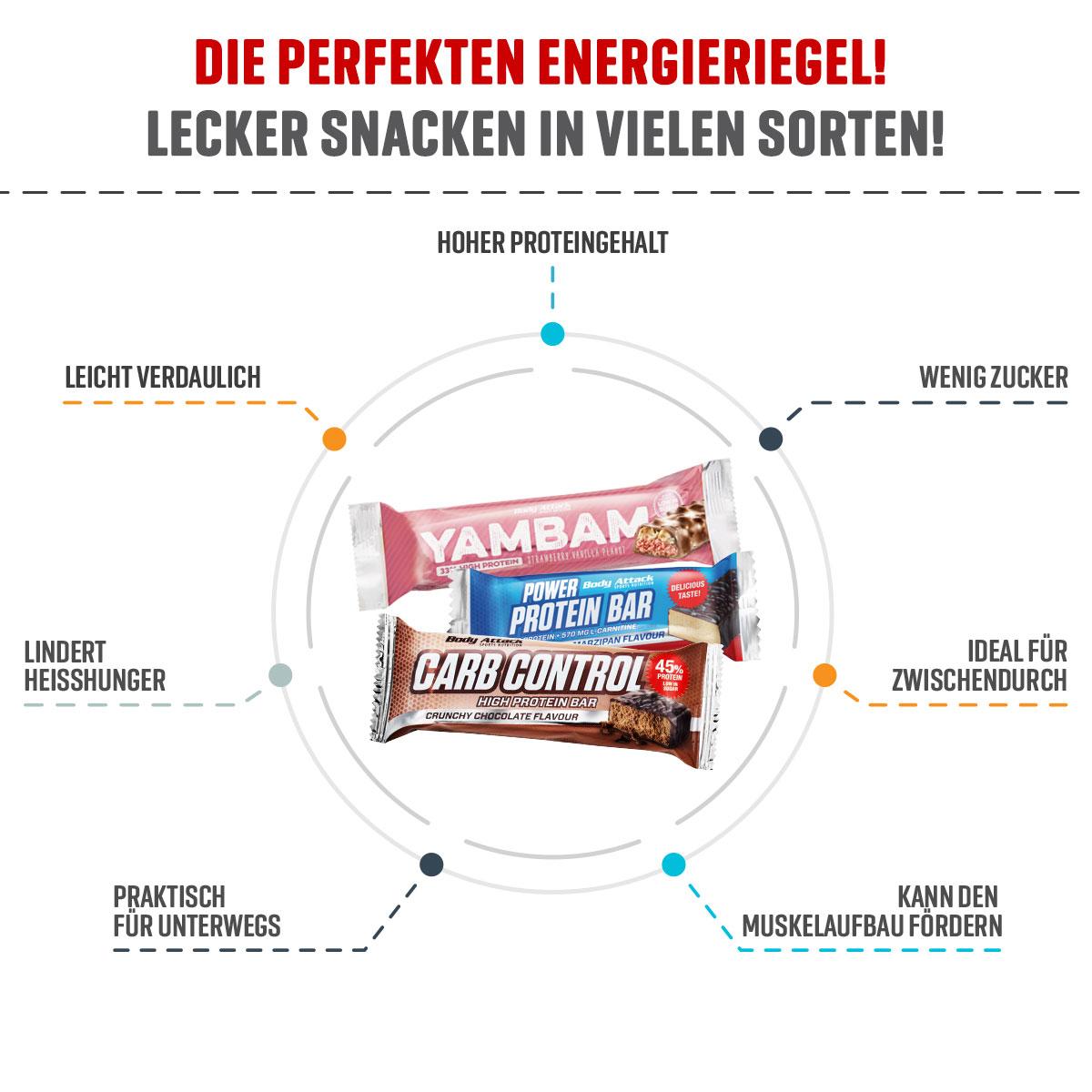 Vorteile Proteinriegel