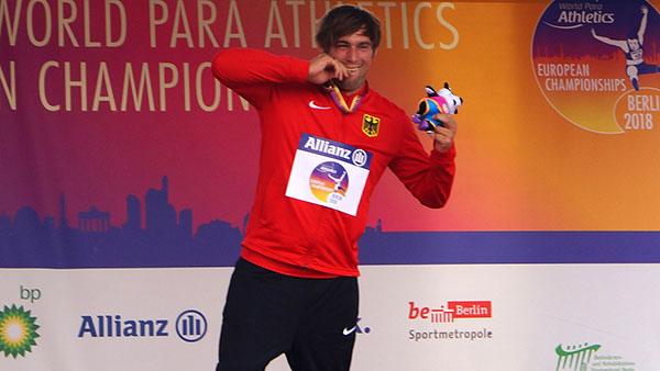 Sebastian Dietz holt erneut Gold