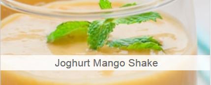 Joghurt Mango Shake