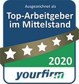 Top-Arbeitgeber im Mittelstand 2020