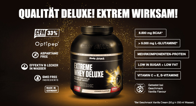 Extreme Whey Deluxe Infos