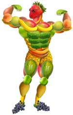 Muskelaufbau Veganer (Quelle: Shutterstock/infini)